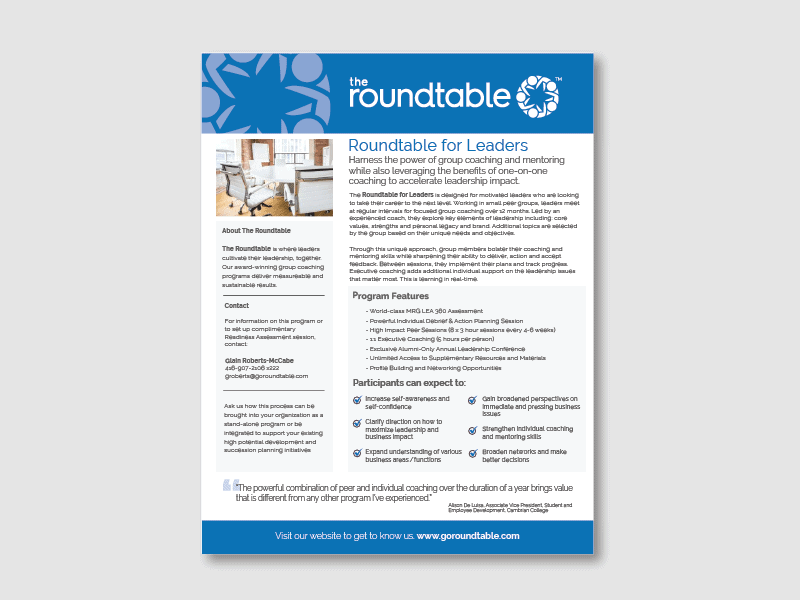 Roundtable for Leaders