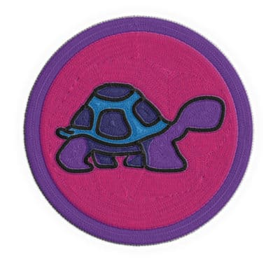 Slow and Steady Merit Badge